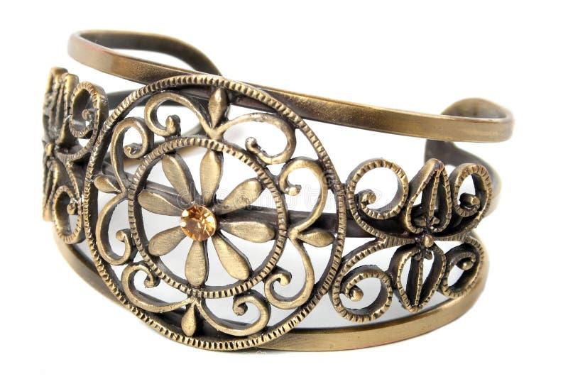Bracelete do vintage fotografia de stock
