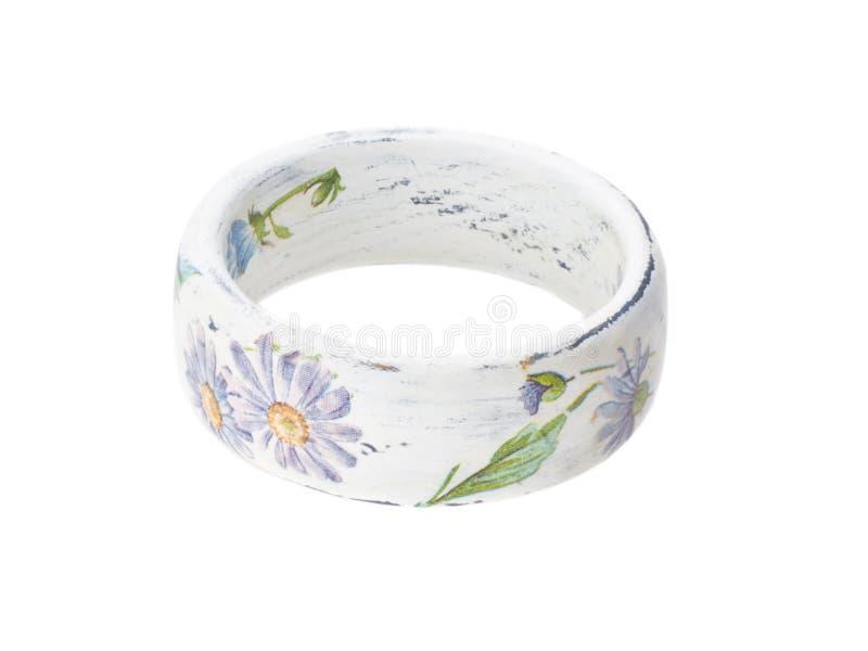 Bracelete isolado no branco fotografia de stock