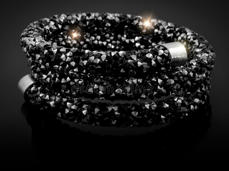 Bracelete luxuoso das senhoras fotografia de stock