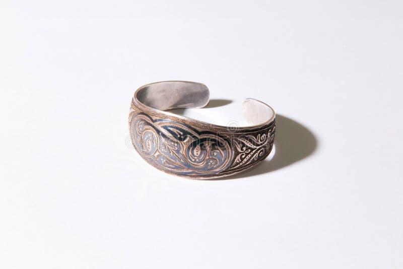 Bracelete medieval de Kazakhstani imagem de stock