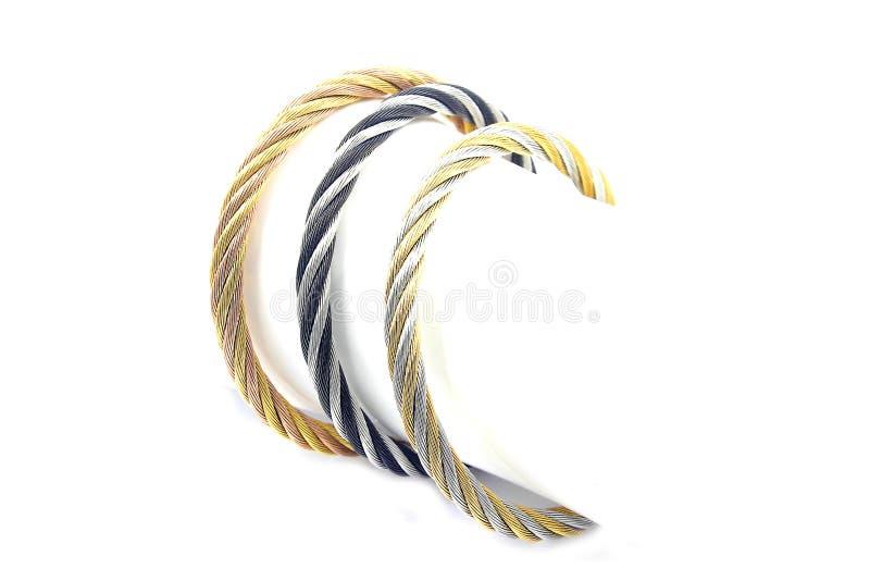 Bracelete moderno das senhoras imagens de stock royalty free
