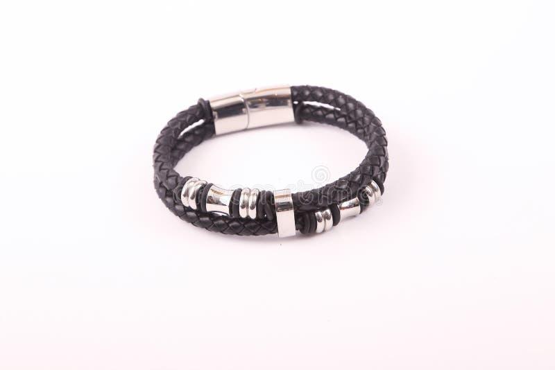 Bracelete preto imagens de stock royalty free
