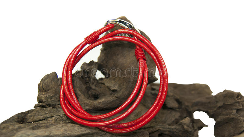 Bracelete vermelho fotos de stock