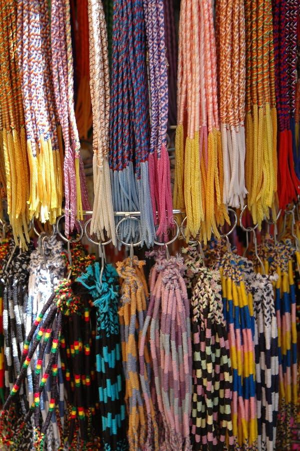 Braceletes coloridos fotos de stock