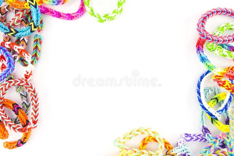 Braceletes dos elásticos foto de stock royalty free