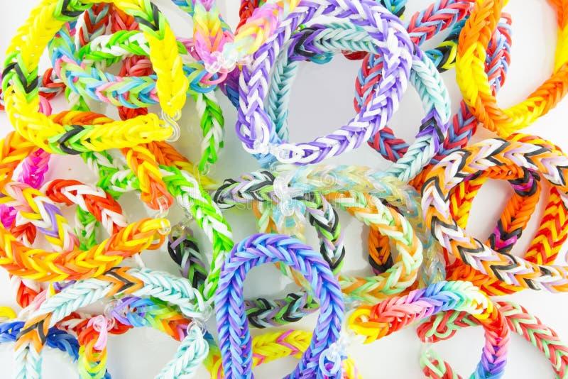 Braceletes dos elásticos imagens de stock royalty free