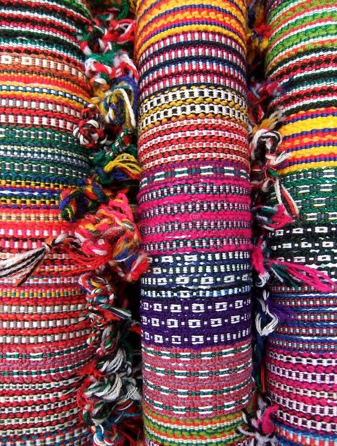 Braceletes tecidos imagens de stock