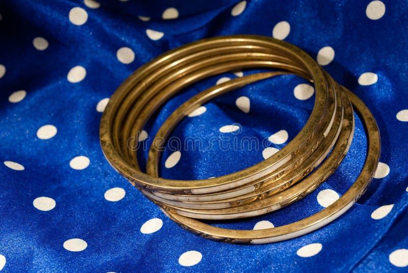 Braceletes velhos imagens de stock royalty free