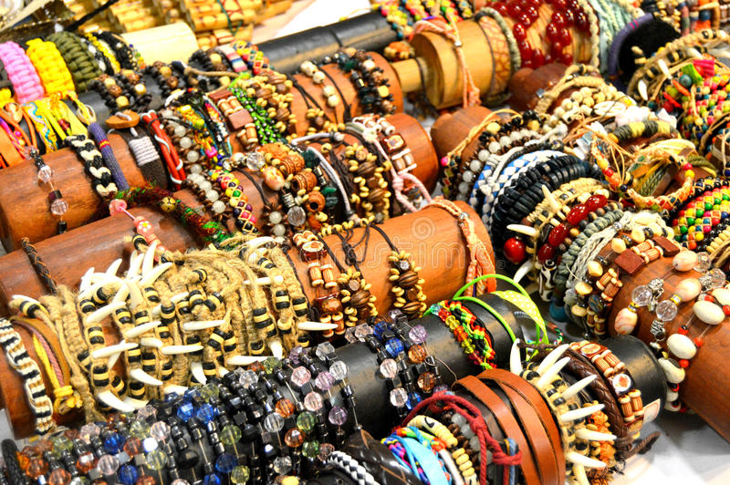 bracelets photographie stock