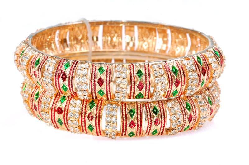 bracelets d'or images stock