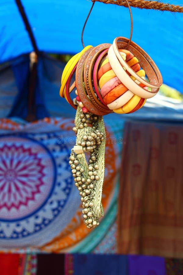 bracelets India foto de stock royalty free