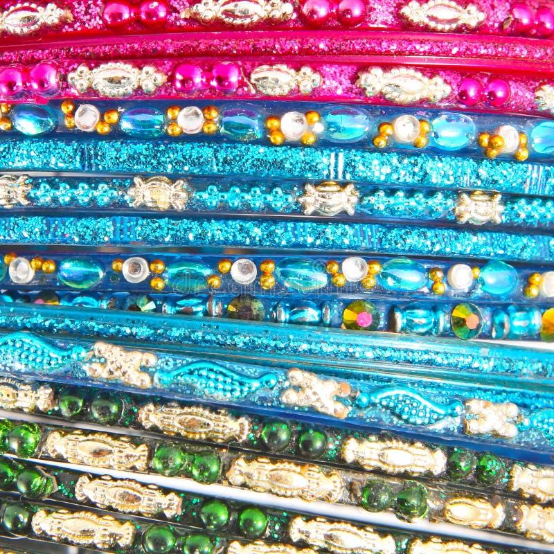 Bracelets indiens traditionnels photo libre de droits
