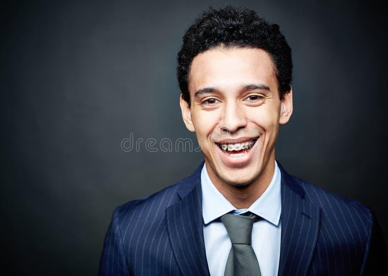 Download Braces smile stock image. Image of formal, ethnicity - 33212617