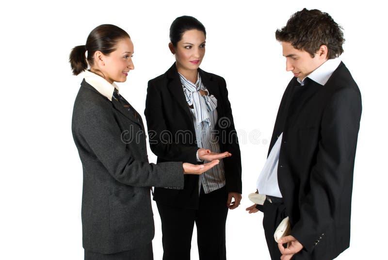 Brach Geschäftsleute lizenzfreies stockbild