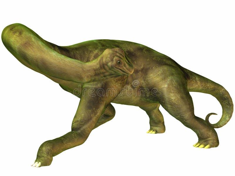 Brachiosaurus ilustração do vetor