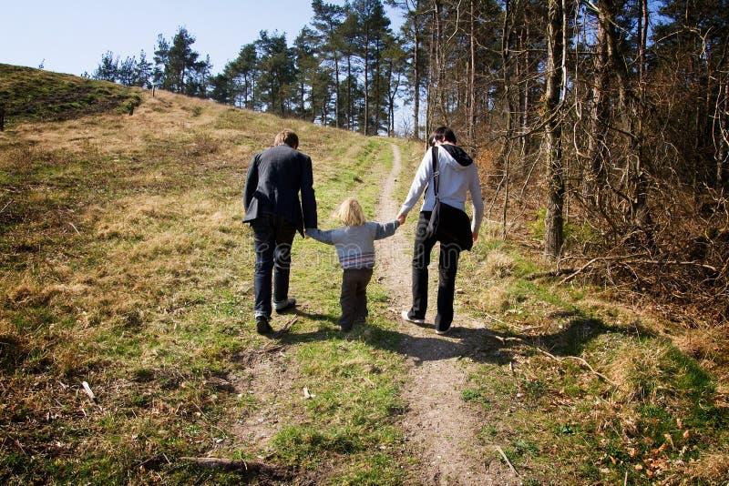 braci dziecka las obrazy royalty free