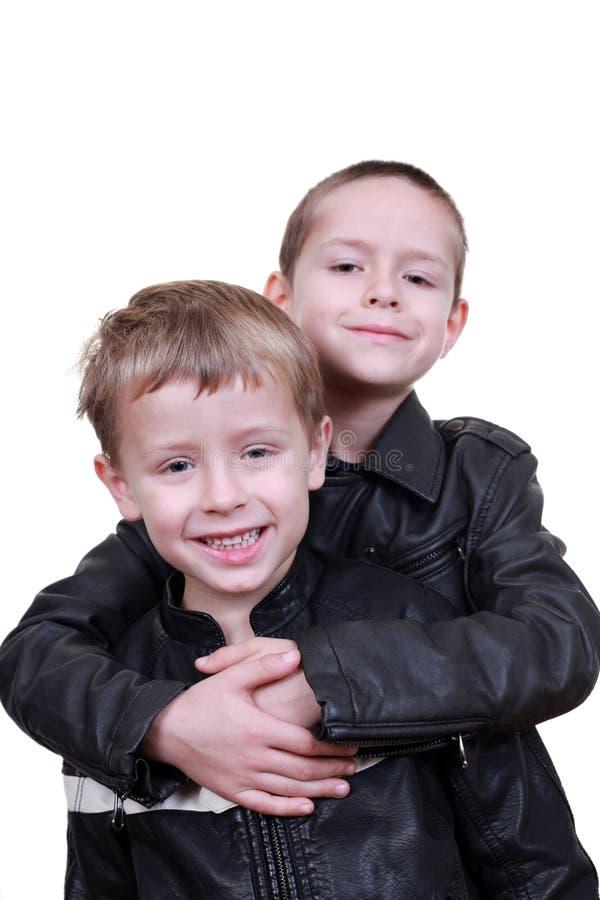 Download Bracia zdjęcie stock. Obraz złożonej z chłopiec, biały - 13342930