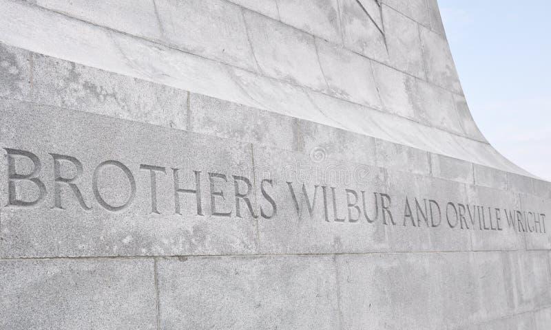 bracia pamiątkowy krajowy Wright obraz royalty free