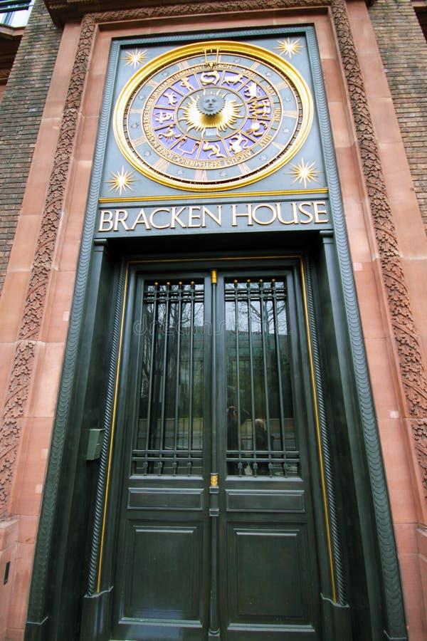 Bracken House, London royalty free stock photography