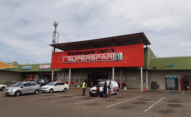 Brackengate shopping centre in Alberton, South Africa stock photography