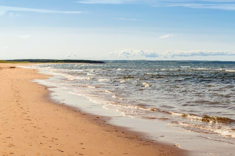 Brackley-Strand in Prinzen Edward Island National Park stockfotografie