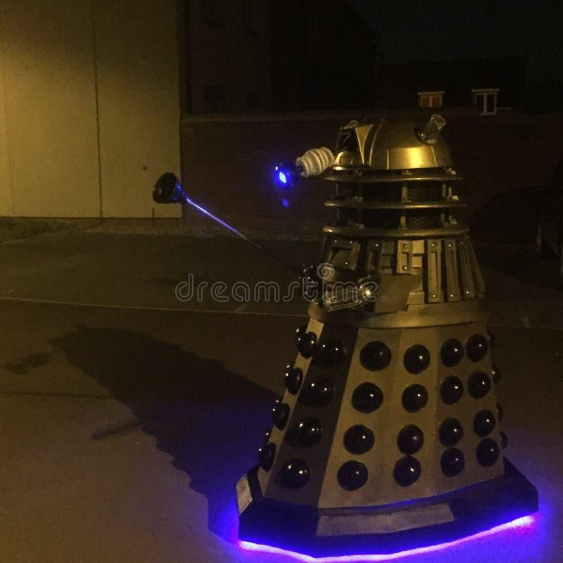 Bracknell Dalek royalty-vrije stock afbeelding