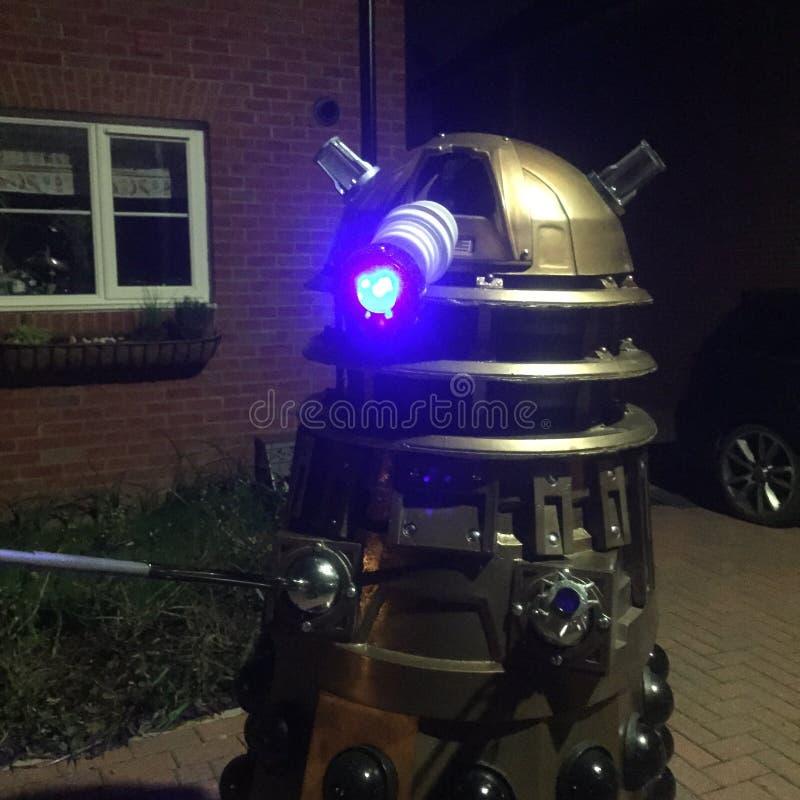 Bracknell Dalek stock afbeeldingen