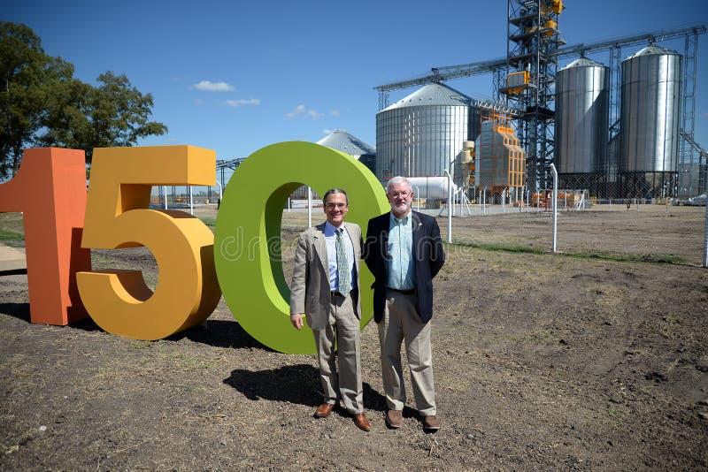 Brad Freden en Schreiber y Cargill stock photos