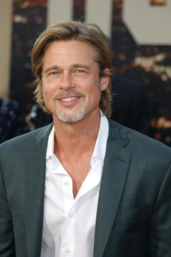 Brad Pitt 免版税库存图片