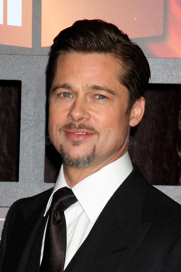 Brad Pitt stock afbeelding