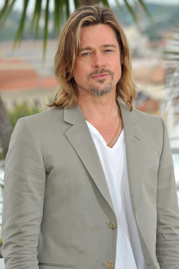 Brad Pitt royalty-vrije stock foto