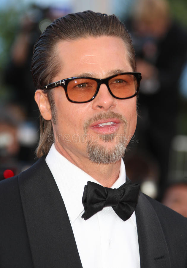 Brad Pitt royalty-vrije stock afbeeldingen