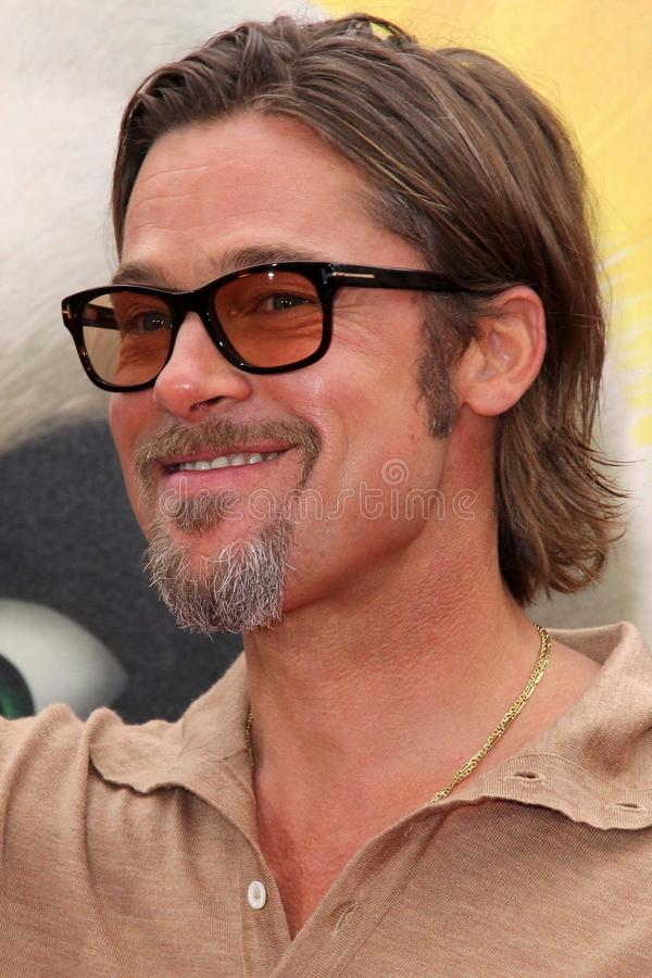 Download Brad Pitt redaktionelles stockbild. Bild von theater - 26357434