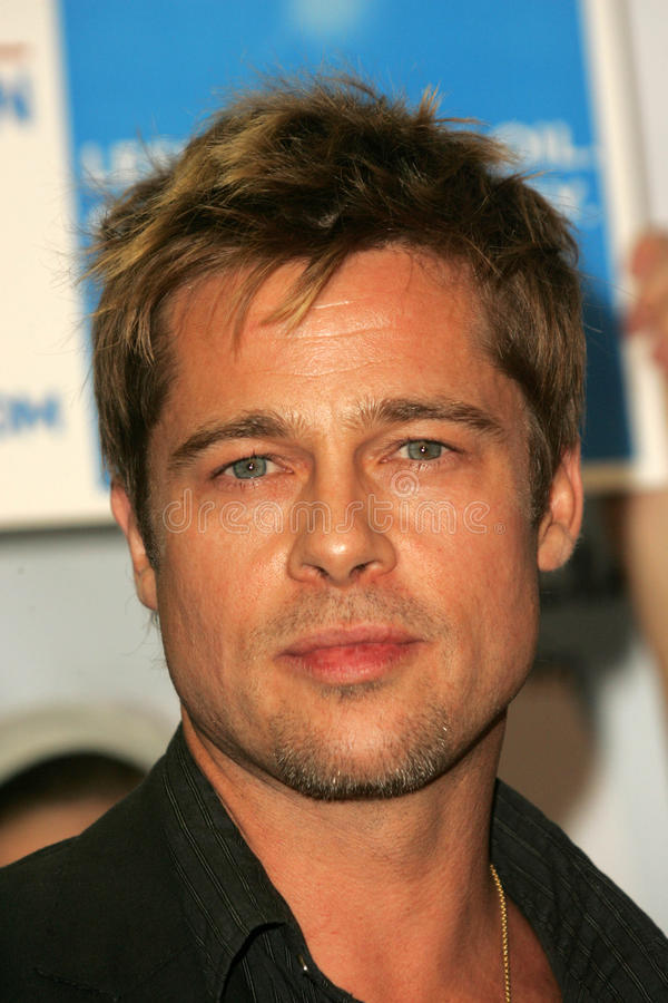 Download Brad Pitt editorial stock image. Image of angeles, proposition - 26357464