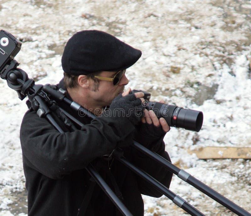 Brad Pitt lizenzfreie stockfotos