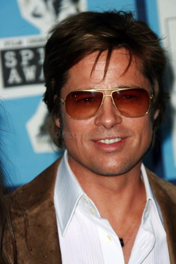 Brad Pitt royaltyfri bild