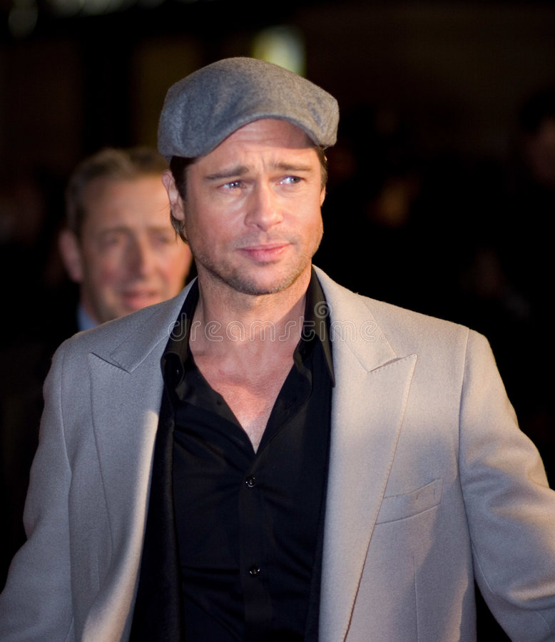 Brad Pitt royalty-vrije stock foto's