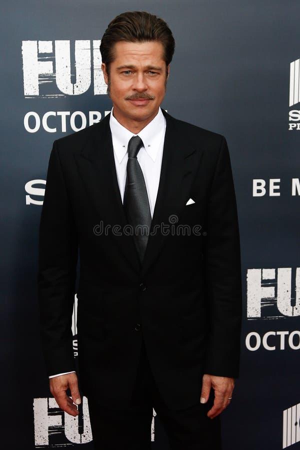 Brad Pitt imágenes de archivo libres de regalías