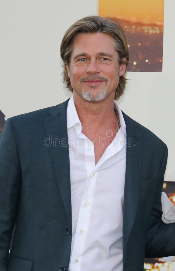 Brad Pitt stock fotografie