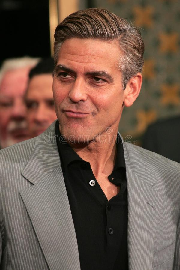 George Clooney stock photography