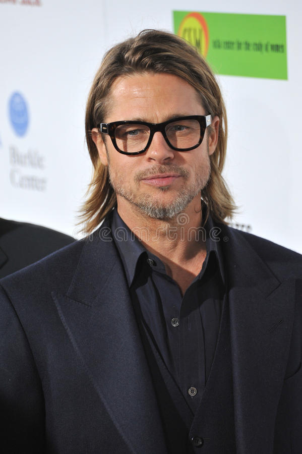 Brad Pitt, Paul Smith fotografia de stock