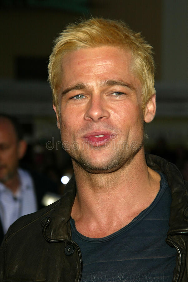 Download Brad Pitt editorial photography. Image of pitt, 06, theater - 30726372