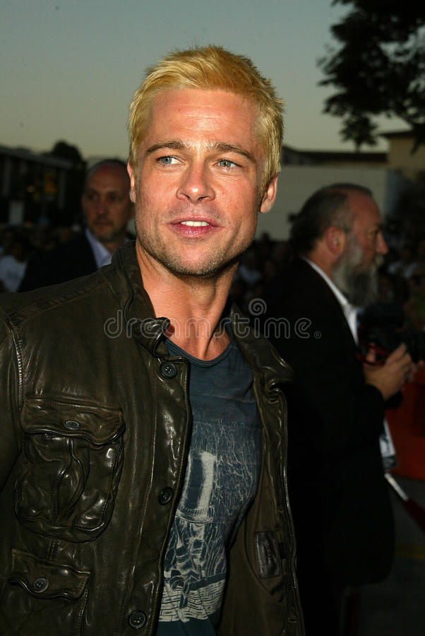 Download Brad Pitt editorial stock photo. Image of mann, westwood - 30726393