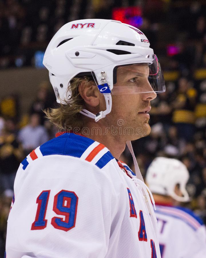 Brad Richards New York Rangers image libre de droits