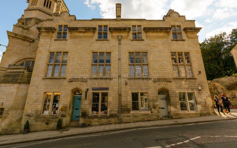 Bradford's stary urząd miasta zdjęcia royalty free