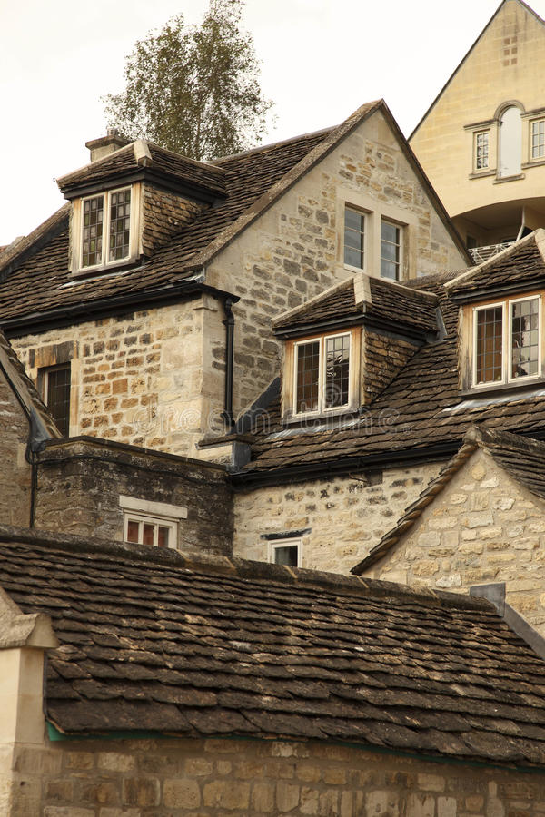 Download Bradford-on-Avon Rooftops stock photo. Image of england - 27363490