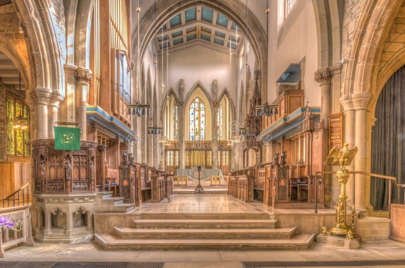 Bradford Cathedral immagine stock libera da diritti