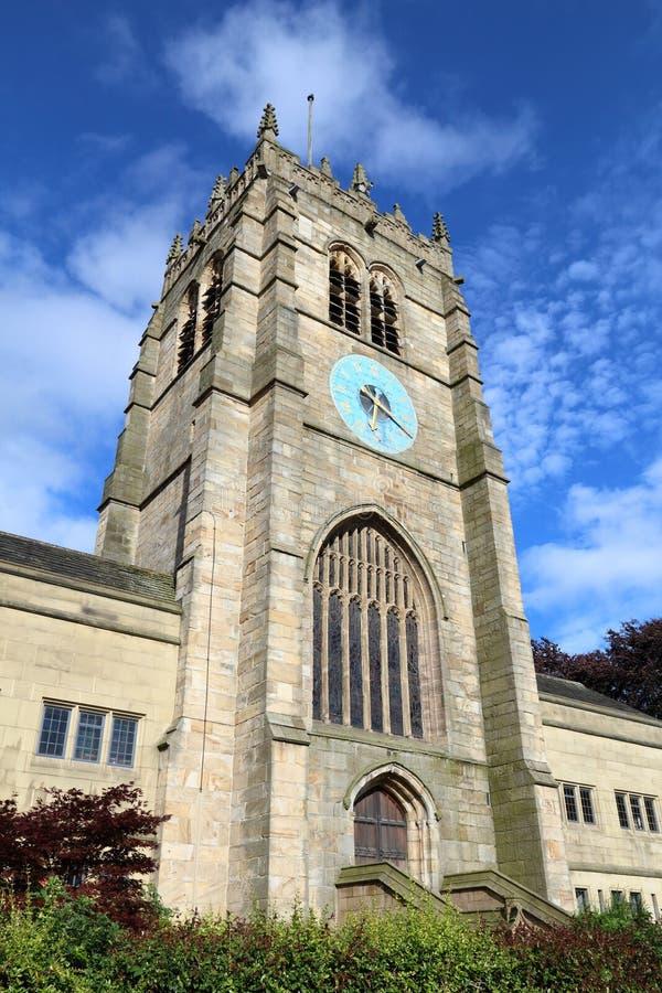 Bradford Cathedral fotografía de archivo libre de regalías