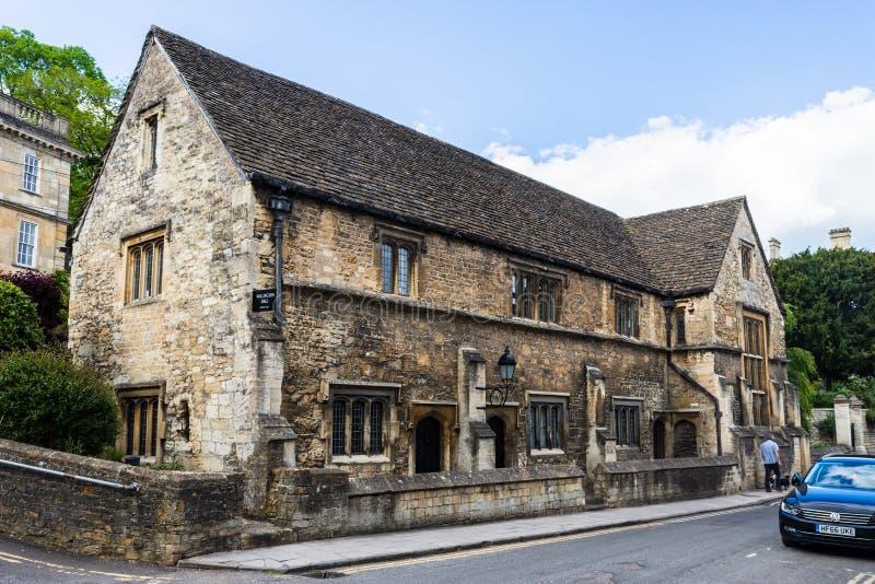 Bradford na Avon Wiltshire Maj 21st 2019 A widoku Wallington sala w Kościelnej ulicie fotografia stock