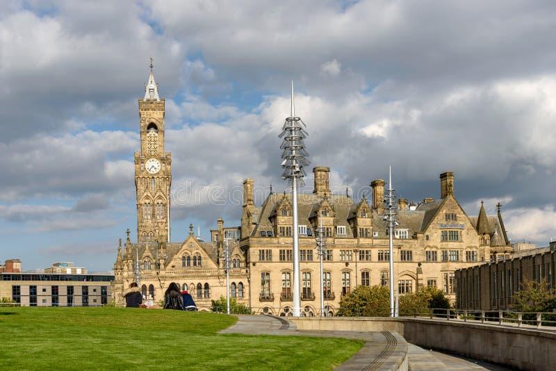 Bradford Townhall Reino Unido imagem de stock royalty free